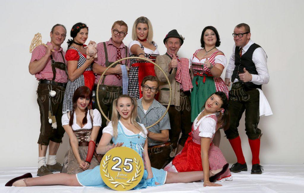 Das Menuetheater 25 Jahre Jubiläumsshow