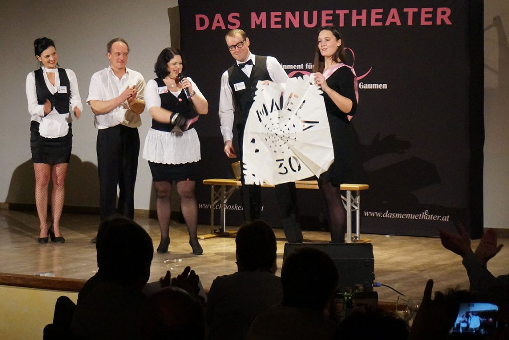 Menuetheater Chaoskellner Stockinger Ansfelden