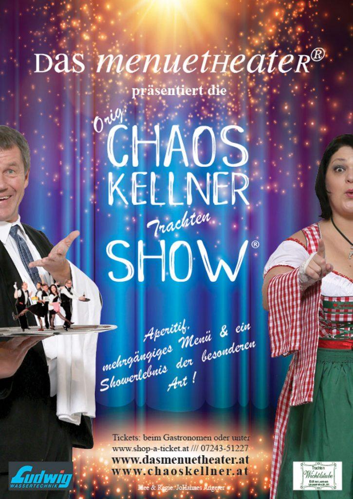Chaoskellner Flyer 2018