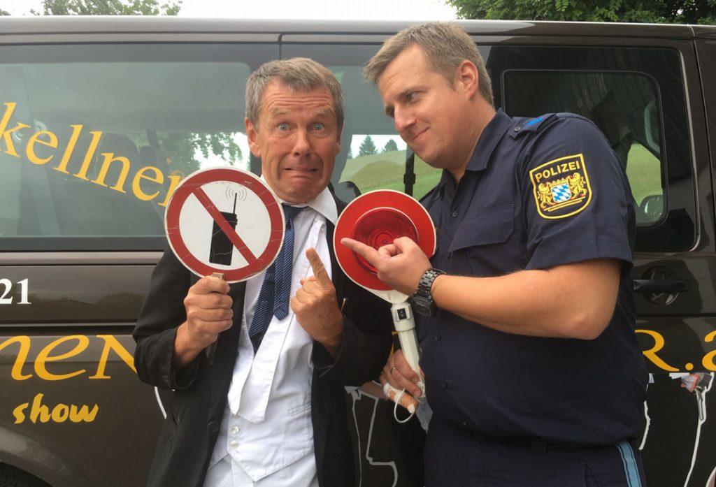 Johannes Polizeikontrolle
