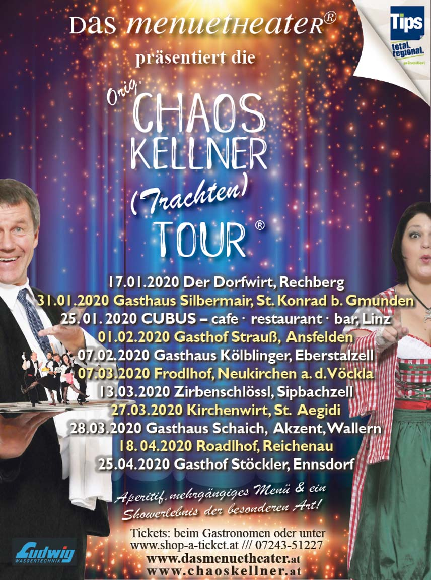 chaoskellner tourdaten 2020