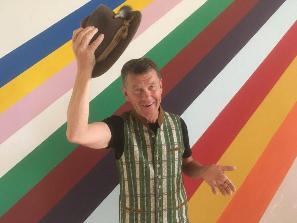 Johannes Angerer Künstler mit spirituellem Hintergrund